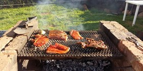 A Typical South African Braai