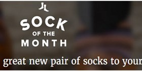 Sock of the Month Canada