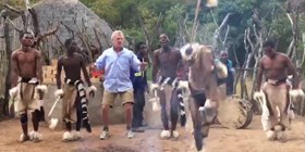 Dancing with the Zulu Tribe