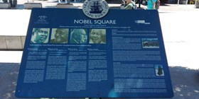 Nobel Square at the V&A Waterfront in Cape Town