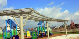 City Architects Select Polycarbonate Multi-Wall Sheet For Park in Town of Whitby, Ontario