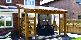 Perfect roof for my pergola!