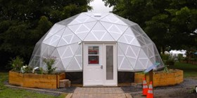 Geodesic Dome Greenhouse for the City of Ottawa