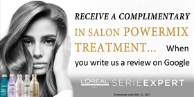 Complimentary Power Mix Treatment