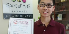 Spirit of Math Student Shines Bright in International Math Contest!
