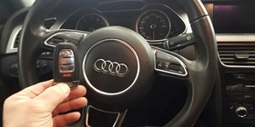 Audi car owner need a spare key for 2013 Audi A4