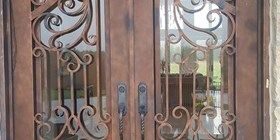 Gorgeous antique doors in historic Kitchener location need some TLC