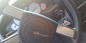 Guelph automotive locksmith makes a duplicate key for Chrysler 300.