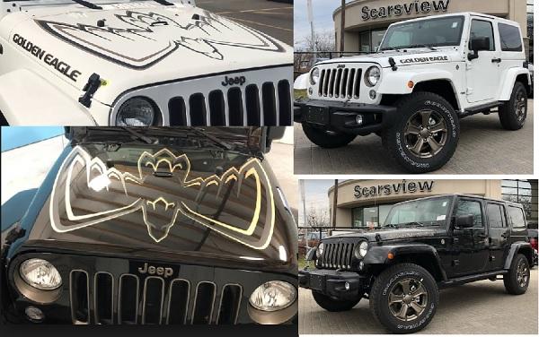 Usede 2018 Jeep Wrangler Golden Eagle Edition